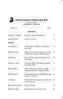 Pdf The Eugene O'Neill Review
