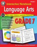 Interactive Notebook  Language Arts Workbook  Grade 7