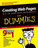 Creating Web Pages All in One Desk Reference For Dummies