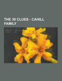 The 39 Clues Cahill Family Book PDF
