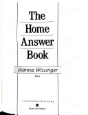 The Home Answer Book Book PDF