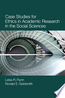 Case Studies for Ethics in Academic Research in the Social Sciences