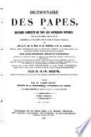 Troisième et dernière Encyclopédie théologique, ou Troisième et dernière Série de dictionnaires sur toutes les parties de la science religeuse, offrant en français et par ordre alphabétique, la plus claire, la plus facile, la plus commode, la plus variée et la plus complète des théologies ... publiée par M. l'abbé Migne