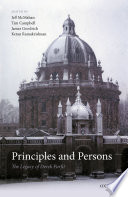 Principles and Persons Book PDF