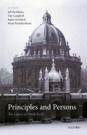 Pdf Principles and Persons Telecharger