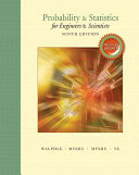 Probability and Statistics for Engineers and Scientists Book