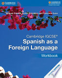 Books - Cambridge Igcse� Spanish As A Foreign Language Workbook | ISBN 9781316635544