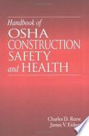 Handbook of OSHA Construction Safety and Health Book