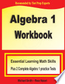 Algebra 1 Workbook