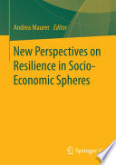 New Perspectives on Resilience in Socio-Economic Spheres
