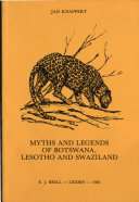 Myths and Legends of Botswana, Lesotho, and Swaziland