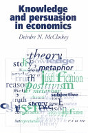 Knowledge and persuasion in economics