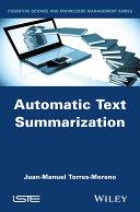 Automatic Text Summarization