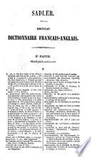 Nouveau dictionnaire portatif Anglais - Français et Français - Anglais0