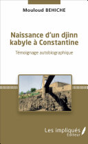Naissance d'un djinn kabyle à Constantine [Pdf/ePub] eBook