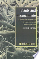 Plants and Microclimate Book