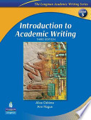 Introduction to Academic Writing with Criterion(SM) Publisher's Version