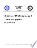 U S  Navy Illustrator Draftsman 3   2 Volume 1 Equipment  Volume Standard Drafting Practices  Volume 3 Executionable Practices And Volume 4 Presentations Graphics