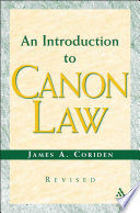 An Introduction to Canon Law Revised Edition