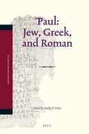 Paul  Jew  Greek  and Roman
