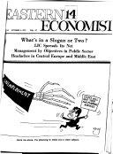 Eastern Economist Book