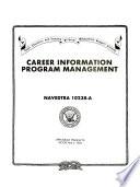 Career Information Program Management