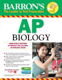 Barron s AP Biology with CD ROM  5th Edition