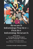 Research Informing Practice Practice Informing Research