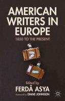 American Writers in Europe Pdf/ePub eBook