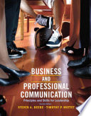 Business   Professional Communication Book