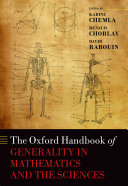 Pdf The Oxford Handbook of Generality in Mathematics and the Sciences Telecharger