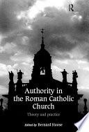 Authority in the Roman Catholic Church