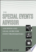 The Special Events Advisor