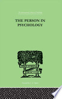 The Person In Psychology Book PDF