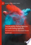 Sustainability Rating Agencies vs Credit Rating Agencies