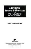 Life's Little Secrets & Shortcuts for Dummies