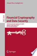 Financial Cryptography and Data Security Book