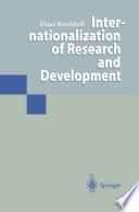 Internationalization of Research and Development