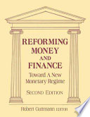 Reforming Money And Finance Book PDF