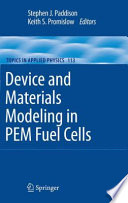 Device And Materials Modeling In Pem Fuel Cells Book PDF