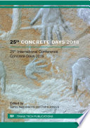 25th Concrete Days 2018