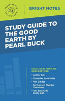 Study Guide to The Good Earth by Pearl Buck Book