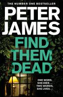 Find Them Dead Pdf/ePub eBook