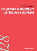 Pdf Les grands mouvements littéraires européens Telecharger