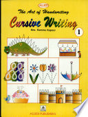 The Art Of Handwriting  Cursive Writing Book 1 Book PDF