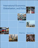 International Economics  Globalization  and Policy  A Reader