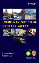 Incidents That Define Process Safety Book PDF