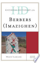 Historical Dictionary of the Berbers  Imazighen