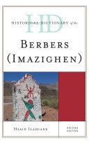 Historical Dictionary of the Berbers (Imazighen)