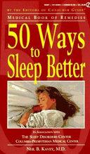 50 Ways to Sleep Better
